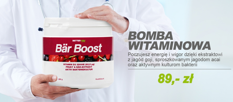 BAR BOOST BOMBA WITAMINOWA - moc witamin